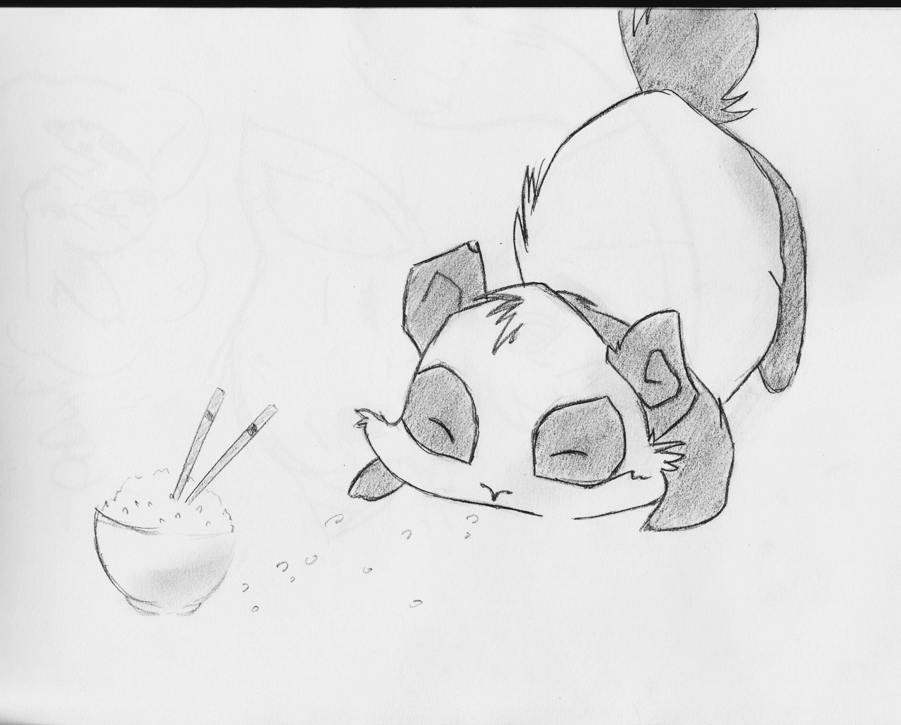 Comment dessiner des manga animaux - Dessiner un animal facile ...